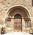 Escola de Lleida. Castelló de Farfanya, la Noguera. Portada de Sant Miquel. (ArxiuSiT-090550).jpg