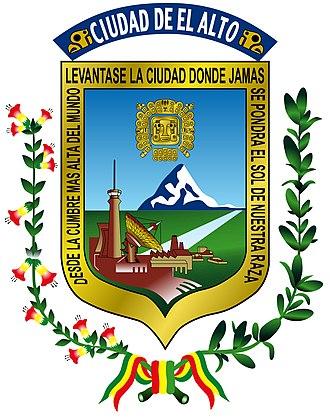El Alto - Image: Escudo del Alto