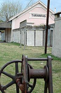 Estacion de Trenes en Tarariras, Colonia, Uruguay.jpg