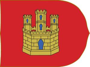 Taifa of Toledo - Image: Estandarte del Reino de Castilla