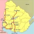 Etapas de la Vuelta del Uruguay 2007.png
