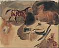 Eugène Delacroix - Study of Horses - Google Art Project.jpg