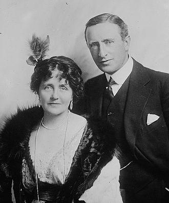 Eva Moore - Eva Moore with her husband Henry V. Esmond.