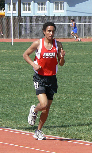 English: Excel Cross Country Runner