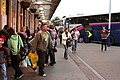 Exeter - passengers at St Davids Station - geograph.org.uk - 596479.jpg