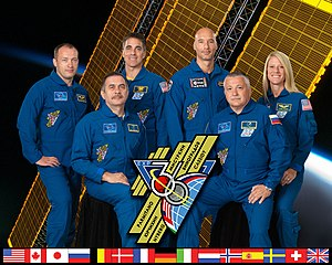 Expedition 36 - Image: Expedition 36 crew portrait