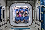 Expedition 55 inflight crew portrait seen from the Kibo lab.jpg