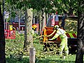 Först tree shredder in Tottenham, Haringey, London, England 3.jpg