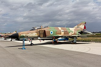 Amir Nachumi - IAF F-4 Phantom with 3 kill markings