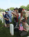 FEMA - 44471 - Boy Scouts place flags at Nashville National Memorial Cemetery.jpg