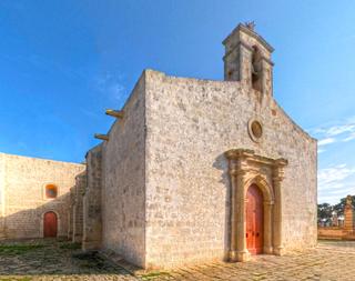 St. Catherines Old Church, Żejtun Church in Żejtun, Malta