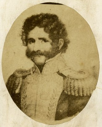"Nazario Benavídez - Facundo Quiroga, ""El tigre de los llanos"", Benavídez's commander and a witness at his wedding"
