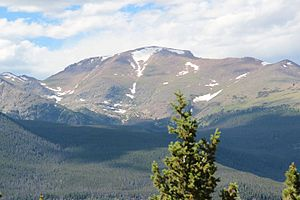 Fairchild Mountain - Image: Fairchild Mountain viewed from Trail Ridge Road