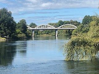 Fairfield Bridge New Zealand bridge