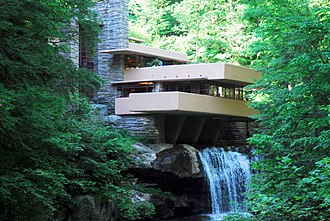 Modern architecture - Image: Fallingwater by Frank Lloyd Wright