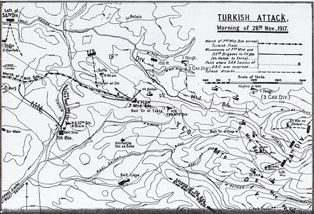 Detail of Ottoman counterattack on morning of 28 November 1917 Falls sketch 16.jpeg