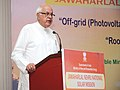 Farooq Abdullah addressing at the launch of the guidelines for two schemes (i) off-grid (photovoltaic & thermal) and decentralized solar applications and (ii) Rooftop & other small solar power plants.jpg