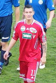 Róbert Feczesin Hungarian association football player