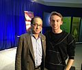 Federico Pistono and Ray Kurzweil at Singularity University NASA Ames Research Park.jpg