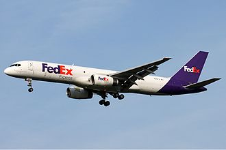 Boeing 757 - Boeing 757-200SF of FedEx Express, the variant's largest single operator