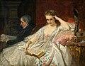 Felix Armand Heullant Edle junge Dame im Salon.jpg