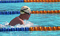 Female breaststroke swimmer, 1992 Paralympic Games.jpg
