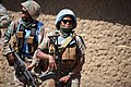 Female combat troops of South African Contingent in MONUSCO on robust foot and moblile patrols 03.jpg
