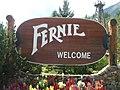 Fernie's welcome sign.JPG