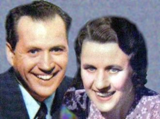 Fibber McGee and Molly - Jim and Marian Jordan as Fibber McGee and Molly in 1941