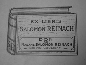 impostare Norma scheletro  Salomon Reinach