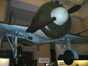 Boris Safonov - Safonov's Polikarpov I-16 fighter, displayed at the Central Naval Museum in Saint Petersburg.