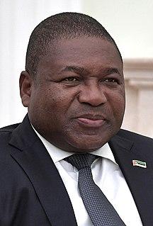 Filipe Nyusi President of Mozambique (2015-present)