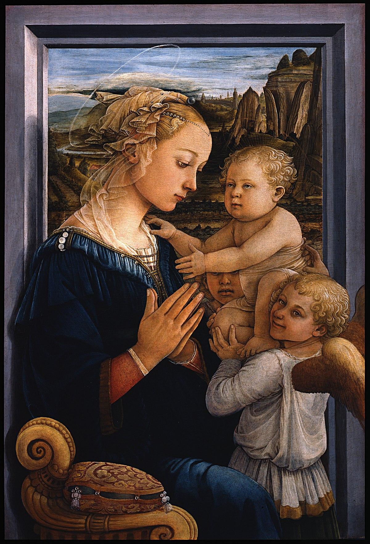 madonna and child lippi wikipedia