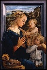 Madonna col Bambino e due angeli (Fra fillipo Lippi) - Domingo com Limonada