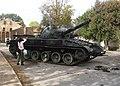 Filmset in Kuldīga - Panzer 68 tank.jpg
