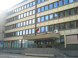 Ministry of Finance (Lithuania) - Image: Finansų ministerija