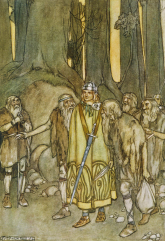 Irish mythology - Finn McCool Comes to Aid the Fianna