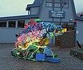 Fish Art made of beach trash (11863319945).jpg