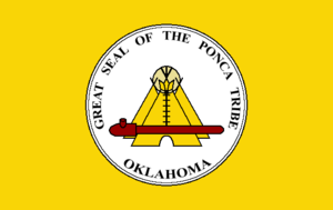 Ponca Tribe of Indians of Oklahoma - Image: Flag of the Ponca Tribe of Oklahoma