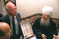 Flickr - Government Press Office (GPO) - PM YITZHAK RABIN WITH DRUZE LEADER SHEIKH AMIN TARIF.jpg