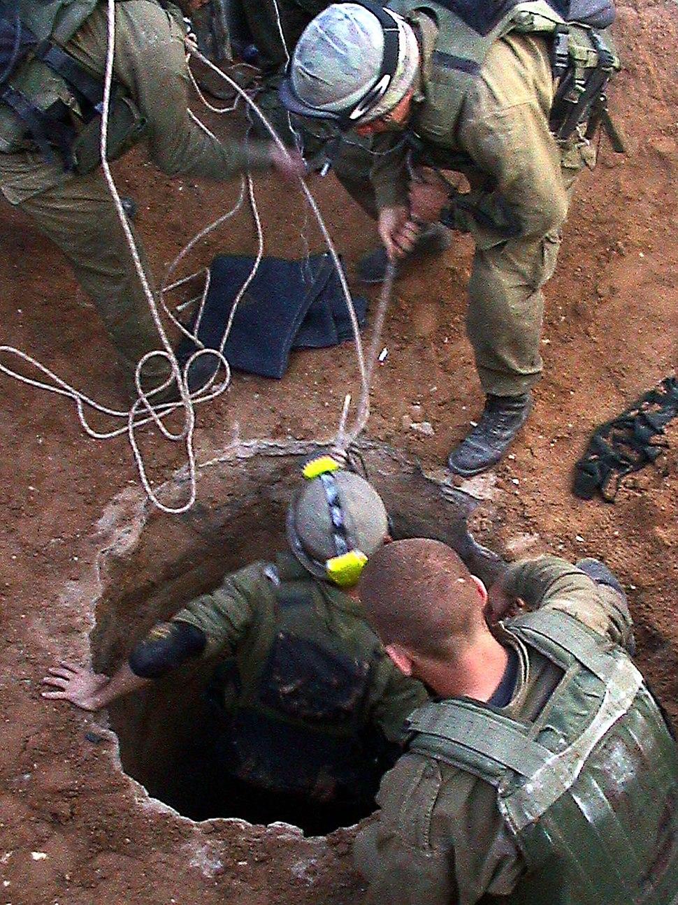 Flickr - Israel Defense Forces - 40 Kilogram Explosive Found At Bottom of Tunnel
