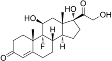 Fludrocortisone structure.png