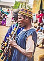 Flute players at the durban festival, zaira city, kaduna.jpg