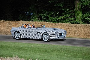 Bristol Bullet (automobile) - Pre-production Bristol Bullet at the 2016 Goodwood Festival of Speed