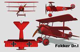 Fokker Dr.I 3 vues.jpg