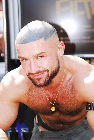 François Sagat - Sagat at the Folsom Street Fair 2006, San Francisco