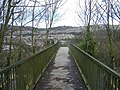 Footbridge across the A467 - geograph.org.uk - 351919.jpg
