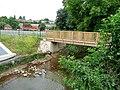 Footbridge over Rudhall Brook, Ross-on-Wye - geograph.org.uk - 1399189.jpg