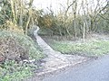 Footpath onto North Leigh Common - geograph.org.uk - 321152.jpg