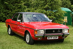 Ford Granada Mark I, four-door saloon